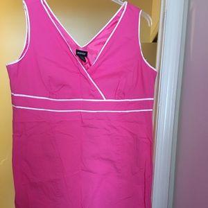 Pink sleeveless Avenue dress